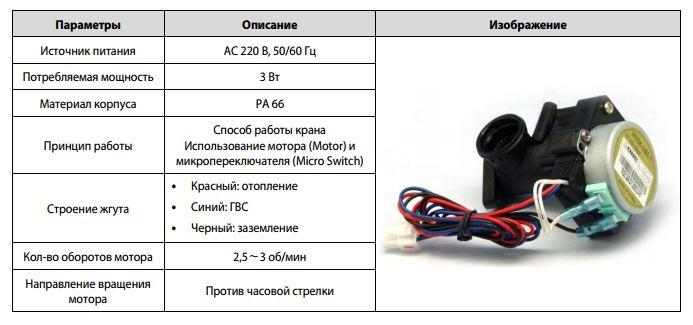 трехходовой клапан для котла Навьен цена в Москве