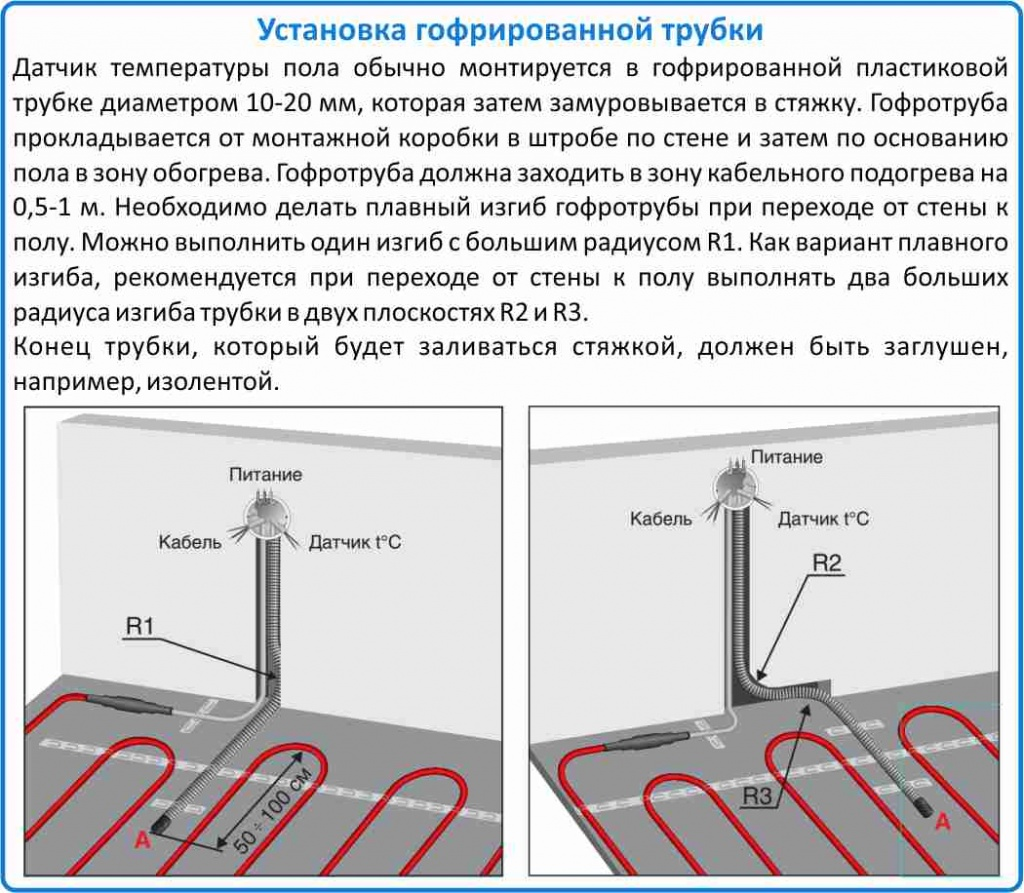 датчик температуры теплого пола цена в Москве